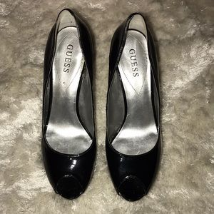 Guess Open-Toe Platform Heels